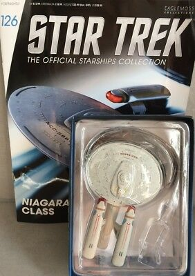 STAR TREK Official Starships Magazine #126 U.S.S. Princeton Starship Eaglemoss