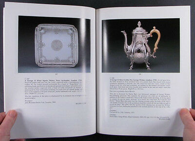 Scottish and English Georgian Silver -1993 Sotheby's Private Collection Catalog