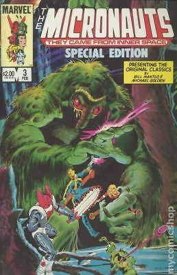 Micronauts Special Edition #3 1984 FN Stock Image
