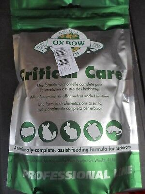 Oxbow Critical Care 454g Rabbits Guinea pigs