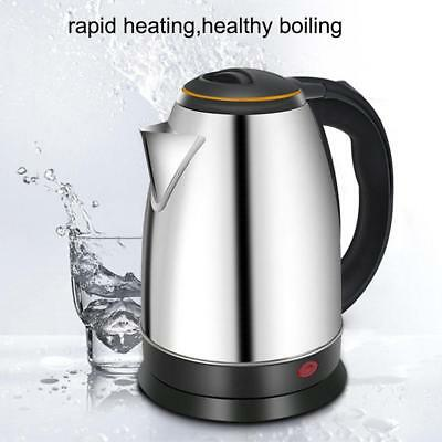 1800W 2L New Fast Hot Water Boil Home Boiler Electric Stainless Steel Jug Kettle