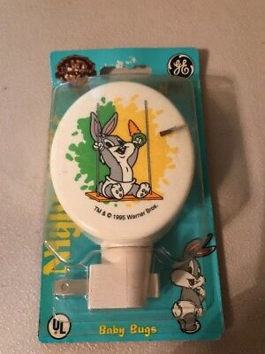 Warner Bros. Looney Tunes Baby Bugs Night Light Rare