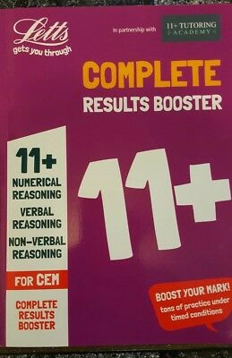 11+ Numerical Verbal Non Verbal Reasoning For CEM - Complete Results Booster