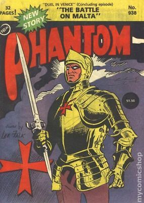Phantom (Frew) Australian #938 1989 VG+ 4.5 Stock Image Low Grade