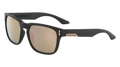 a45c7834b6a DRAGON DR 513 DR513 SI MONARCH ION matte black with rose gold 008 Sunglasses