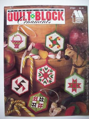 Christmas Quilt Table Runner Plastic Canvas Pattern Instructions