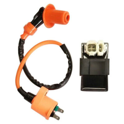 6-Pin Performance Ignition Coil + DC CDI For GY6 50CC 125CC 150CC Scooter HU