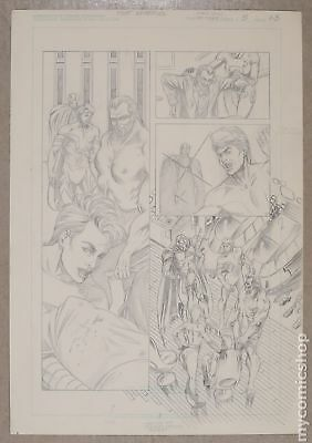 Original Art for Atomic Clones Issue 3, Page 23 by Scott Benefiel (Unreleased)