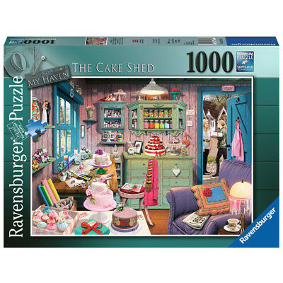 Ravensburger My Haven #5 The Cake Shed Jigsaw Puzzle (1000 Piece) - 15316 - NEW