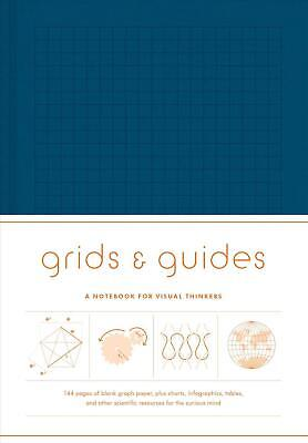 Grids & Guides Notebook: Blue: Navy by Princeton Architectural Press Hardcover B