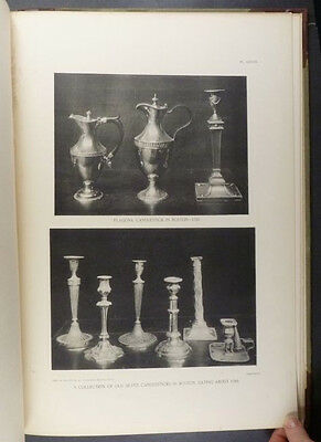 1899 Book on Antique Colonial American Silver - Very Uncommon Book