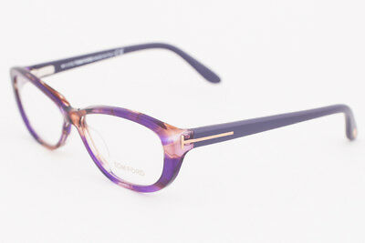 c42230f853 Tom Ford 5226 083 Purple Tortoise Eyeglasses TF5226 083 54mm