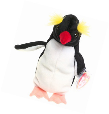 cb07c4894bb TY BEANIE BABY - Slapshot The Penguin 6