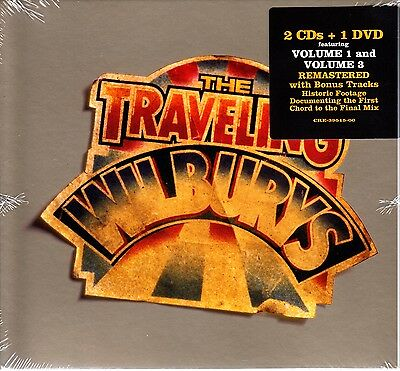 The TRAVELING WILBURYS - COLLECTION 2CD + DVD  ROY ORBISON GEORGE HARRISON