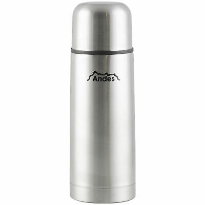 Andes 350ml Stainless Steel Insulated Vacuum Travel Tea/Coffee Thermos Flask