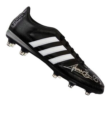 Graeme Souness Signed Football Boot - Adidas  Autograph Cleat