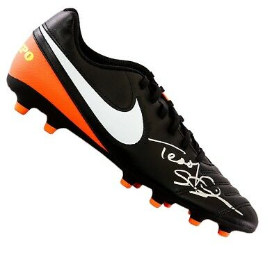 Teddy Sheringham Signed Football Boot - Nike Autograph Cleat
