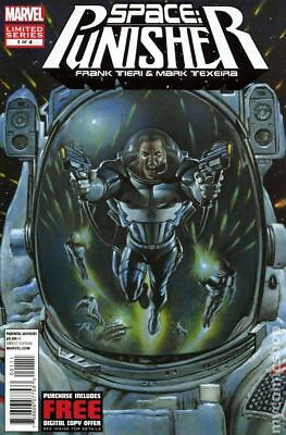 Space Punisher #1 2012 VF Stock Image