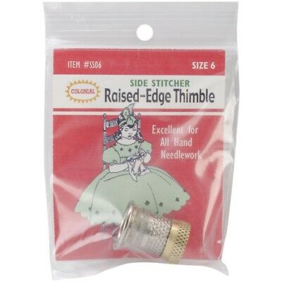 Colonial Raised-edge Thimble-size 12 - Raisededge Thimblesize