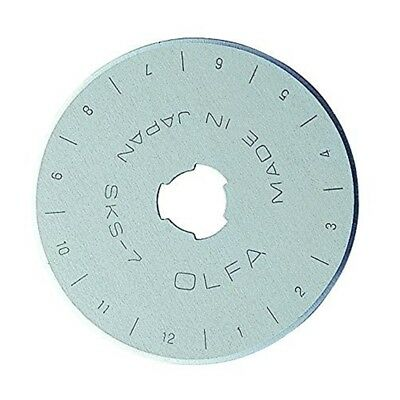 Olfa 9452 Rb45-1 45mm Rotary Blade, 1-pack - Spare Cutters Replacement Rb45