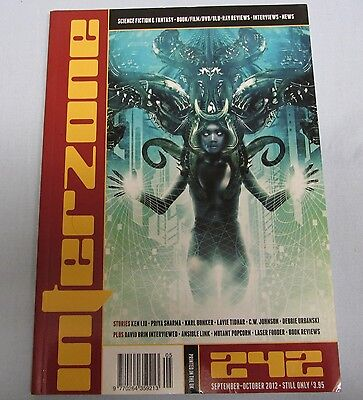 Interzone Mag issue 242 Sep-Oct 2012 Sci-fi, Horror, fantasy Interviews UK
