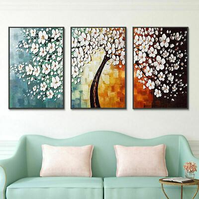 Graceful White Cherry Canvas Art Prints Paintings Picture Home Wall Decor Gifts