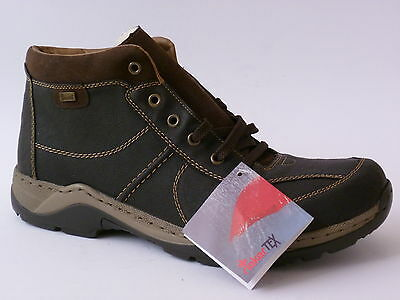 Messieurs Boots Bottines Hiver Chaussures Lacets Confortables Plat Chaussures Taille 41-46 Neuf
