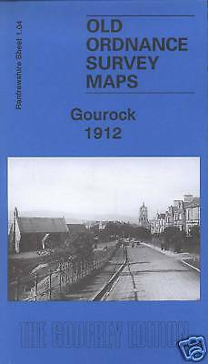 Old Ordnance Survey Map Gourock 1912