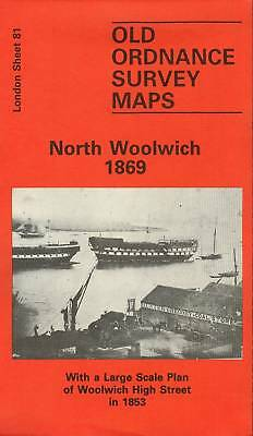 Old Ordnance Survey Map North Woolwich 1869