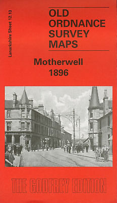Old Ordnance Survey Map Motherwell 1896