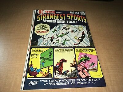 Strangest Sports Stories Ever Told 1971 DC Special Comic Book #13 GH