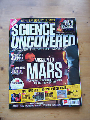 Science Uncovered Magazine - Issue 5 - April 2014 - Unread - Free P&p *reduced*
