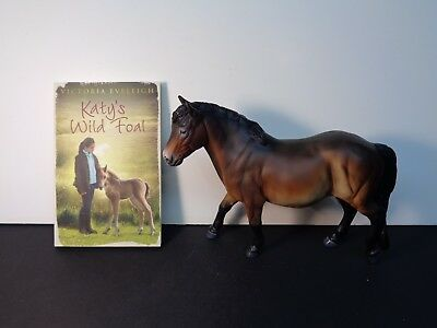 Copperfox Horse Trifle Exmoor Pony 250 pieces made. NIB w/ book/certificate