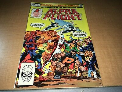 Alpha Flight 1983 Marvel Comic Book #1 GH