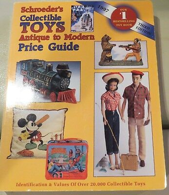 Doll Book: Schroeder's Collectible Toys Antique to Modern w/Prices, Out of Print