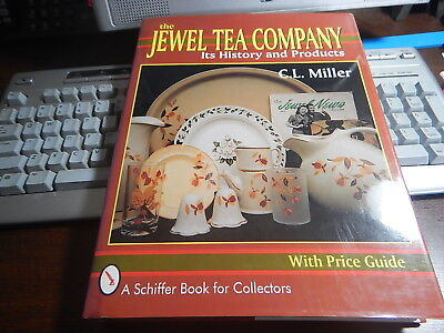 Antique Reference Book The Jewel Tea Company History and Products