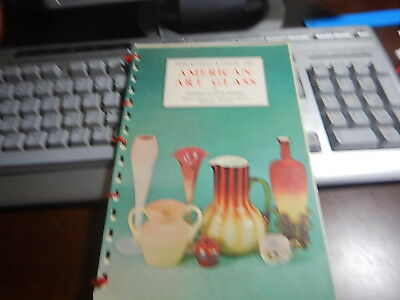 Antique Reference Book American Art Glass by Richard Carter Barret