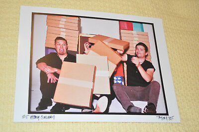 *RARE* Hanson 2015 Gallery Photo Print #5 Taken and Signed by Taylor Hanson!