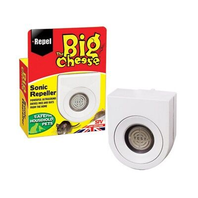 STV International The Big Cheese Sonic Mouse And Rat Repeller (TL1297)