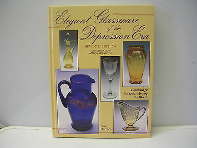 Collector Book Elegant Glassware of the Depression Era by Gene Florence