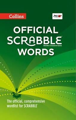 NEW Collins Official Scrabble Words [Fourth Edition] By Collins Dictionaries