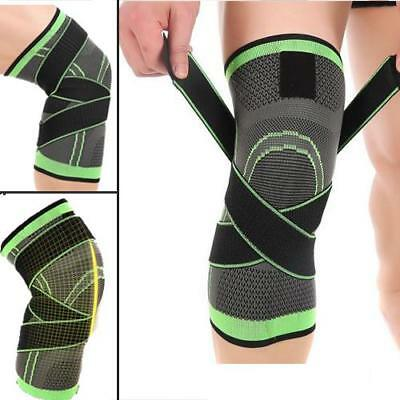Sport Gym Knee Pad Wrap Support Casing Protect Adjustable Brace Arthritis Injury