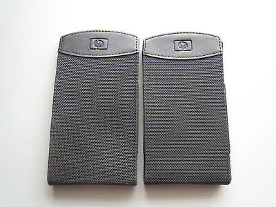 Geniune Oem Hp Ipaq H4300 H4350 H435 Carrying Case Sleave (Lot Of 2)