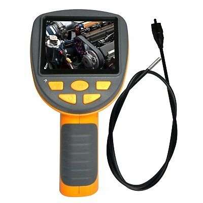 Industrial Endoscope 3.9mm Camera Video Inspection Pipe Borescope 180° Rotation