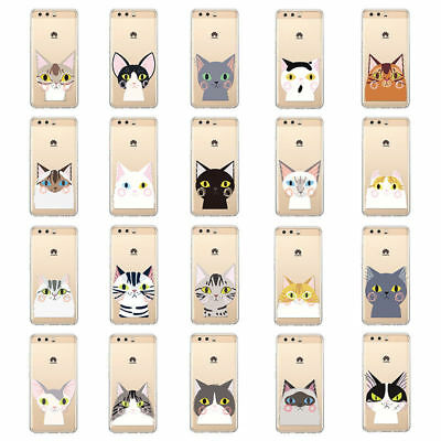 Patterned Ultra Thin Rubber Silicone TPU Case Cover For Huawei P10 P20Lite Mate