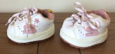 Build a Bear Skechers Pink n White and Pink Roller Skates