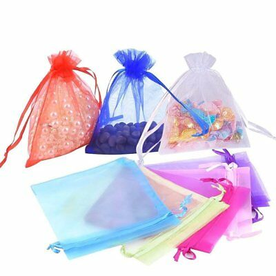 Mixed Organza Gift Sheer Bags Jewellery Wedding Candy Xmas Party Home Packaging