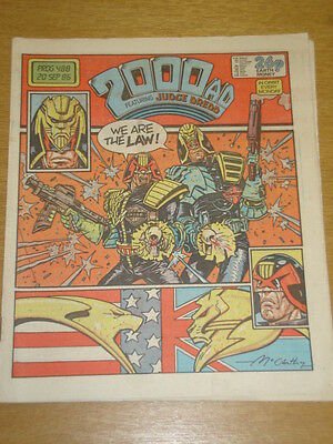 2000Ad #488 British Weekly Comic Judge Dredd *