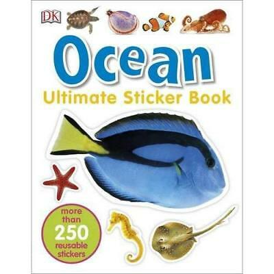 Ocean Ultimate Sticker Book - Paperback NEW DK (Author) 01/03/2016