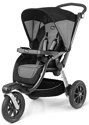 Chicco Activ3 Air One Hand Fold Baby Jogger Jogging Stroller 2018 Q Collection